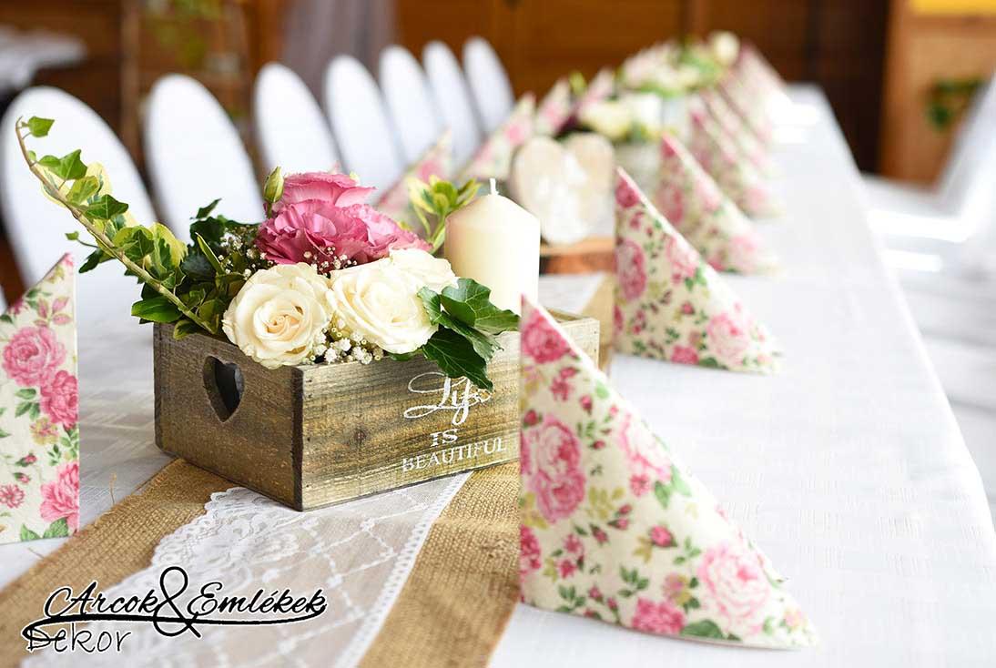 Arcok&Emlékek Dekor Esküvői Dekoráció, Esküvői Virágok és
